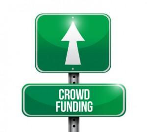 Crowdfunding sign